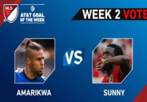 8گل برتر هفته  لیگ MLS
