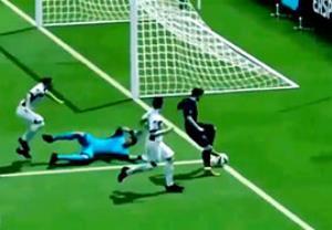 گل زیبا و دیدنی در بازی FIFA