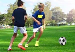 آموزش 3 دریبل زیبا و کاربردی در فوتبال
