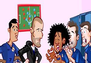 درخشش بیل در بازی مقابل رایو وایه کانو به روایت کارتون