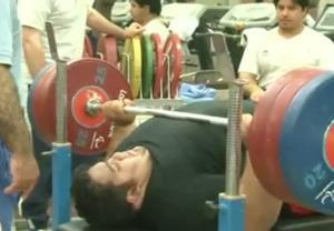 گزارشی از اردو تیم ملی وزنه برداری معلولین