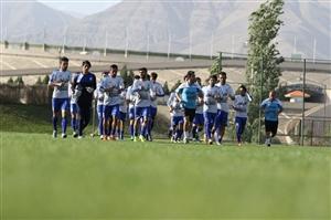 آخرین تمرین استقلال در خرمشهر