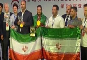 قهرمانی تیم ملی پرورش اندام ایران در آسیا