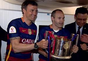 بازگشت بارسلونا با قهرمانی جام حذفی