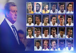 معرفی تیم انگیس در یورو 2016