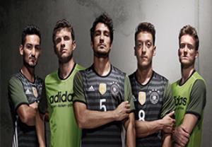 لباس تیم های یورو ۲۰۱۶ که توسط آدیداس طراحی شدند