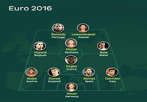 تیم منتخب ستارگان یورو 2016