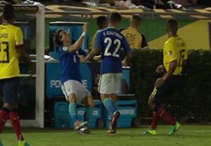 وقتی کوتینیو تکنیک برزیلی را فراموش می کند !!!