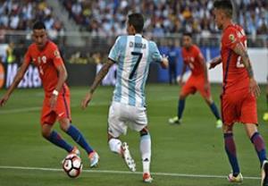 خلاصه بازی آرژانتین 2-1 شیلی