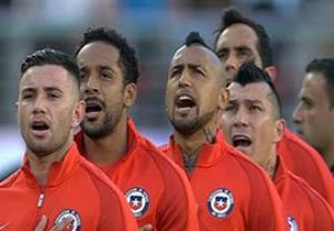 عشق و احترام بازیکنان شیلی به سرود ملی کشورشان
