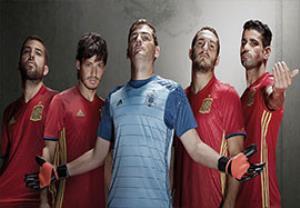 معرفی تیم ملی اسپانیا در رقابت های یورو 2016