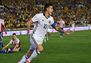 خلاصه بازی کلمبیا 2-1 پاراگوئه