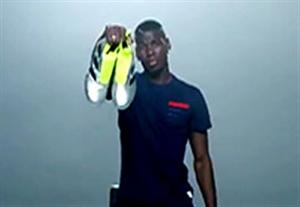 کلیپ جالب معرفی کفش جدید پوگبا برای یورو 2016
