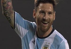 خلاصه بازی آرژانتین 5-0 پاناما (هتریک مسی)