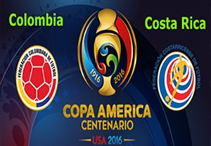 پیش بازی کلمبیا - کاستاریکا