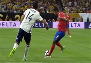 خلاصه بازی کلمبیا 2-3 کاستاریکا