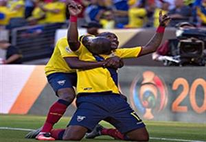 خلاصه بازی اکوادور 4-0 هائیتی