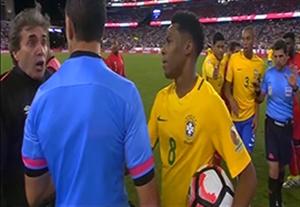 خلاصه بازی برزیل 0-1 پرو