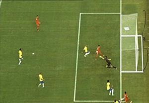 گل جنجالی پرو برابر برزیل