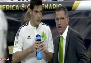 پیش بازی مکزیک - ونزوئلا