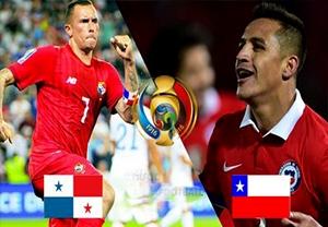 پیش بازی شیلی - پاناما