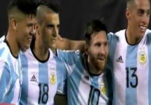 پیش بازی آرژانتین-بولیوی