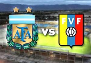پیش بازی آرژانتین - ونزوئلا