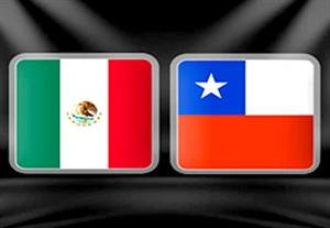 پیش بازی مکزیک - شیلی