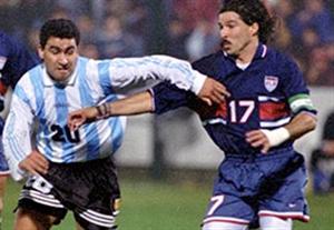 بازی خاطره انگیز آمریکا - آرژانتین (سال 1995)
