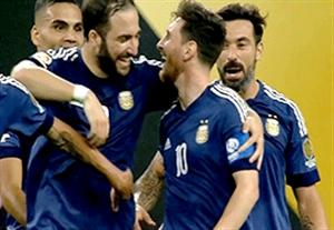 خلاصه بازی آمریکا 0-4 آرژانتین (درخشش مسی)