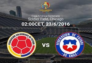 پیش بازی کلمبیا - شیلی