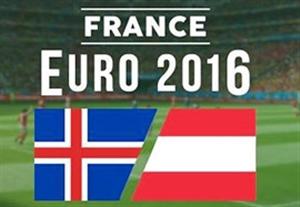 پیش بازی ایسلند - اتریش
