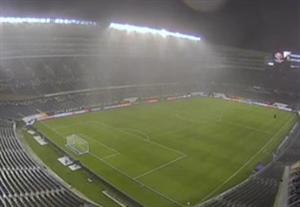 شرایط جوی بازی کلمبیا-شیلی را متوقف کرد