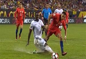 خلاصه بازی کلمبیا 0-2 شیلی