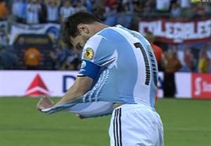 اشتباه مسی و از دست رفتن قهرمانی برای آرژانتین
