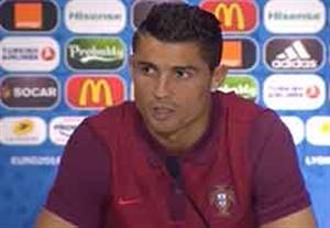 کنفرانس خبری بعد از بازی پرتغال - ولز