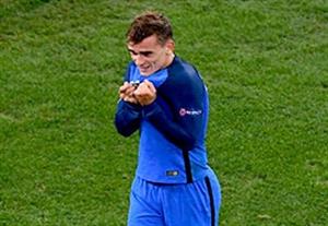 گل اول آنتون گریزمان؛ آلمان - فرانسه
