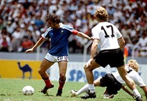 بازی خاطره انگیز آلمان - فرانسه (سال 1982)