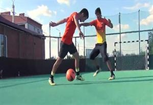 آموزش دریبل حرفه ای و زیبا در فوتبال
