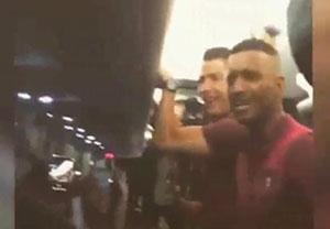 سرود قهرمانی پرتغالی ها همراه با رونالدو