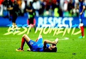 لحظات جذاب یورو 2016 از ابتدا تا پایان