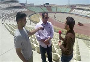 نگاهی به آخرین وضعیت استادیوم یادگار امام تبریز