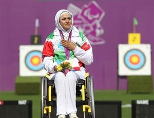 زهرا نعمتی کاندیدای برترین ورزشکار پارا تیروکمان جهان
