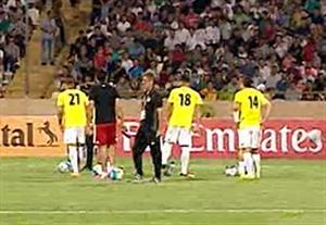 جو ورزشگاه آزادی دقایقی قبل از بازی ایران - قطر