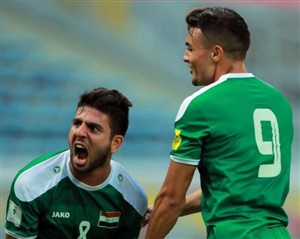 تیم ملی عراق به تهران رسید