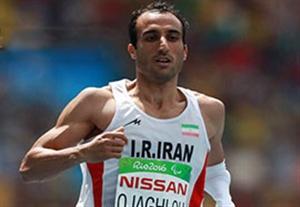 مقام پنجمی اجاقلو در مسابقات دوی 100 متر پارالمپیک