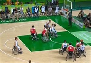 خلاصه بسکتبال با ویلچر آمریکا 93-44 ایران