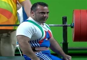 مقام چهارم حمزه محمدی در وزنه برداری پارالمپیک 2016