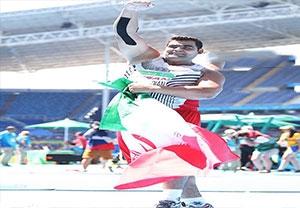 کسب مدال نقره سجاد محمدیان در پرتاب وزنه