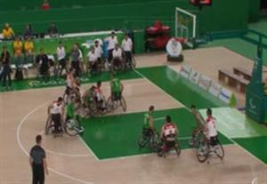 خلاصه بسکتبال با ویلچر ایران 72-48 الجزایر